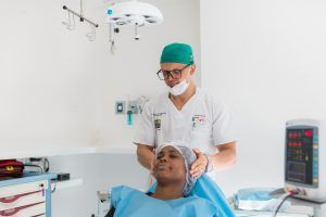 monitorización odontología pabellón cirugía
